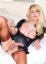 Leather and Nylons